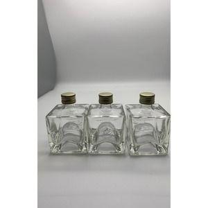 Set /3 Vom Fass square bottles